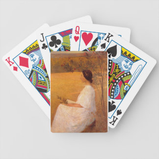 Muse by Henri Martin Bicycle Playing Cards