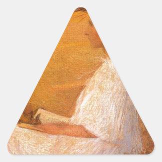 Muse by Henri Martin Triangle Sticker