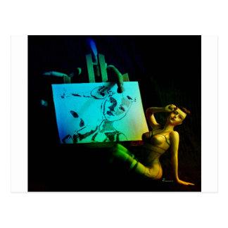 MUSE.jpg del ARTISTA Tarjeta Postal