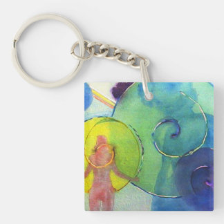 Muse Single-Sided Square Acrylic Keychain