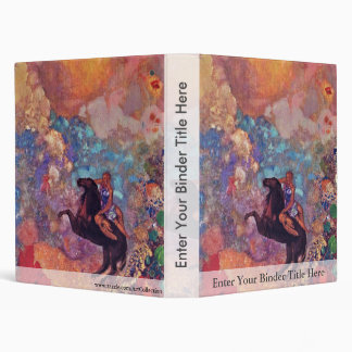 Muse On Pegasus By Redon Odilon (Best Quality) Binder