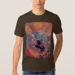 Muse On Pegasus By Redon Odilon (Best Quality) T Shirts