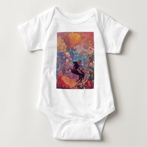 Muse On Pegasus By Redon Odilon (Best Quality) Tee Shirt