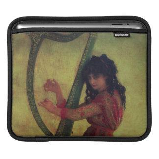 Muse Playing the Harp iPad Sleeve