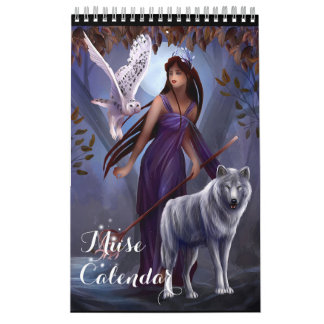 Muse Small Calendar