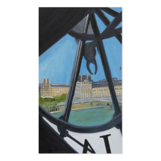 Musée d Orsay Clock Business Card