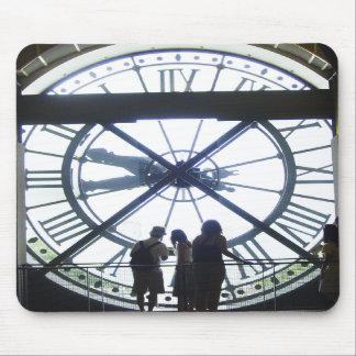 Museé d Orsay Clock Mouse Pad