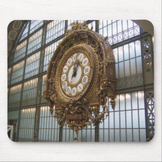 Musée d Orsay Clock Mousepad