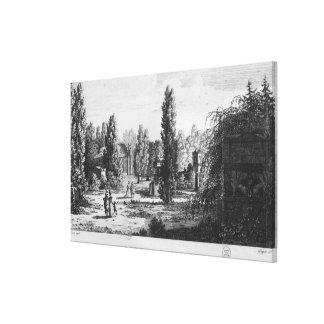 Musee des Monuments Francais, Paris Canvas Print