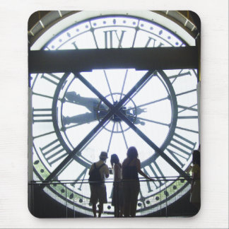 Museé d'Orsay Clock Mouse Pad