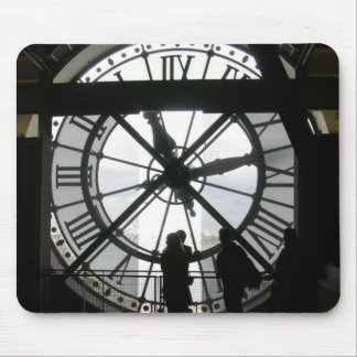 Musee d'Orsay Clock Mouspad Mouse Pad