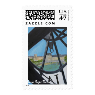 Musée d'Orsay Clock Postage