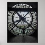 Musée d'Orsay Clock Poster Print