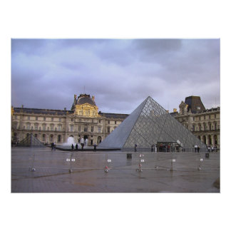 Musee du Lourve Poster