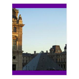 Musee du Louvre Postcard