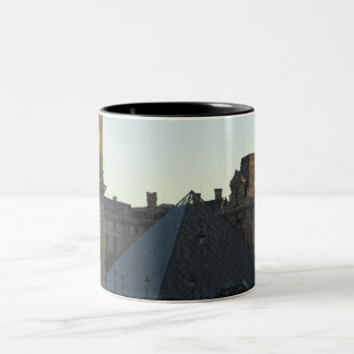 Musee du Louvre Two-Tone Coffee Mug