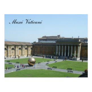 Musei Vaticani Postcard