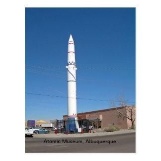 Museo atómico, Albuquerque New México Tarjeta Postal