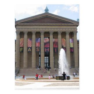 Museo de arte 1 de Philadelphia Tarjeta Postal