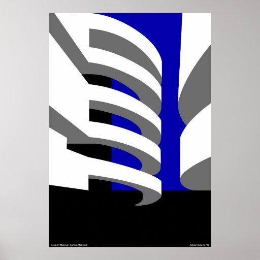 Museo de arte de Aros Poster