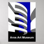 Museo de arte de Aros Posters