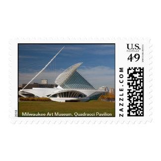 Museo de arte de Milwaukee, pabellón de Quadracci Sellos Postales