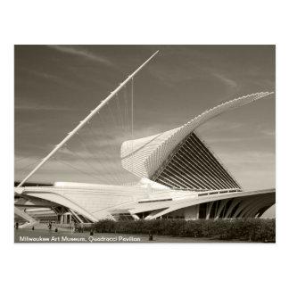 Museo de arte de Milwaukee pabellón de Quadracci Postales