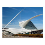 Museo de arte de Milwaukee, pabellón de Quadracci Tarjetas Postales