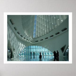 Museo de arte de Milwaukee Póster