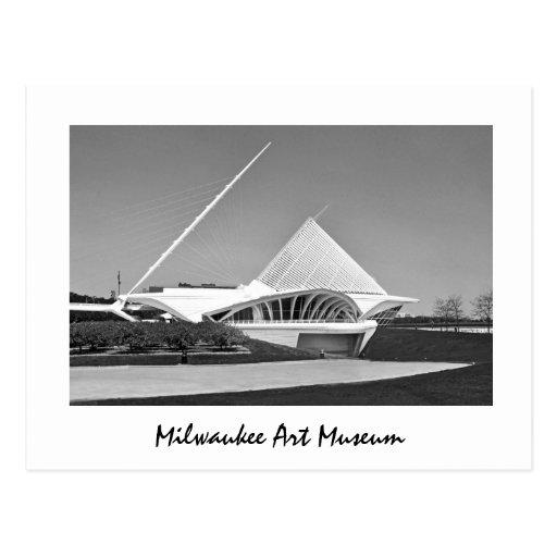 Museo de arte de Milwaukee Tarjeta Postal