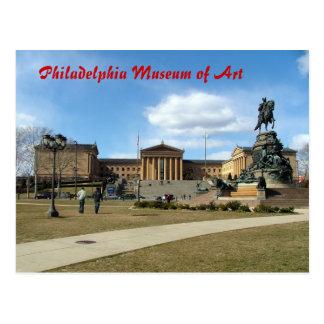 Museo de arte de Philadelphia Tarjeta Postal