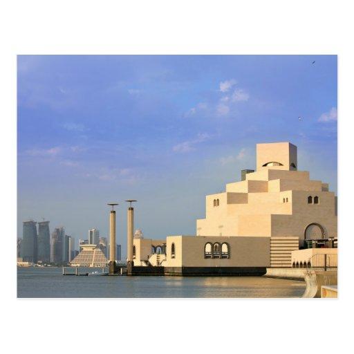 Museo de arte islámico, Doha, Qatar Tarjeta Postal