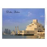 Museo de arte islámico, Doha, Qatar Tarjetón