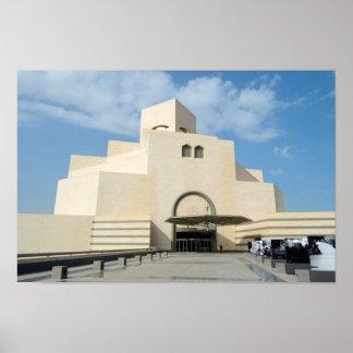 Museo de artes islámicos, Qatar Póster