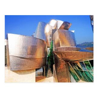 Museo de Guggenheim Bilbao Tarjeta Postal