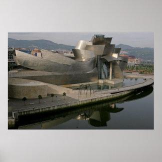 Museo de Guggenheim en Bilbao, España Posters