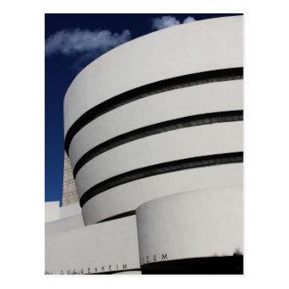 Museo de Guggenheim en New York City Tarjetas Postales