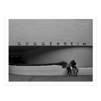 Museo de Guggenheim, NYC Tarjeta Postal
