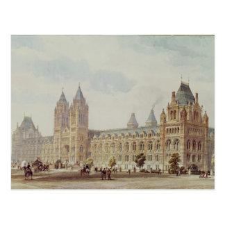 Museo de la historia natural tarjetas postales