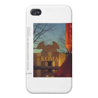 Museo de la koala iPhone 4 carcasas