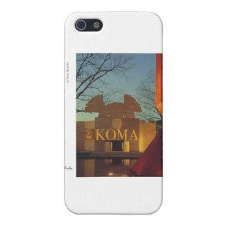 Museo de la koala iPhone 5 fundas