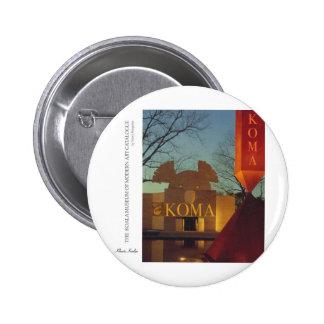 Museo de la koala pin redondo 5 cm