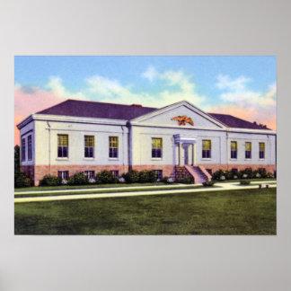 Museo de la menta de Charlotte Carolina del Norte Posters