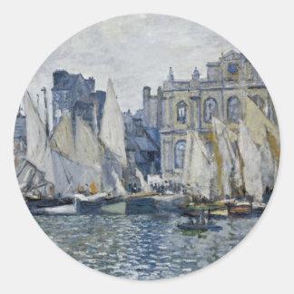 Museo de Le Havre Pegatina Redonda