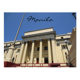 museo de Manila intramuros Postal
