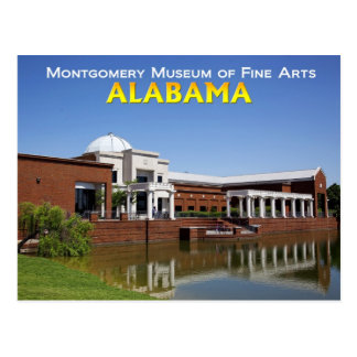 Museo de Montgomery de bellas arte Postal