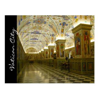 museo de vatican de lujo postales