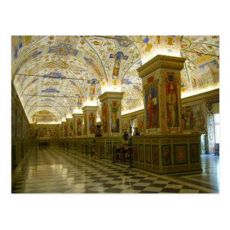 museo de vatican tarjeta postal