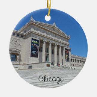 Museo del campo de Chicago Adorno Redondo De Cerámica