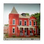 Museo del crimen y del castigo - Ashburn, Georgia Tejas Cerámicas